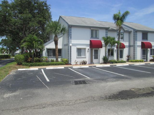 401 Seaport Boulevard #144, Cape Canaveral, FL 32920 (MLS #838359) :: Blue Marlin Real Estate