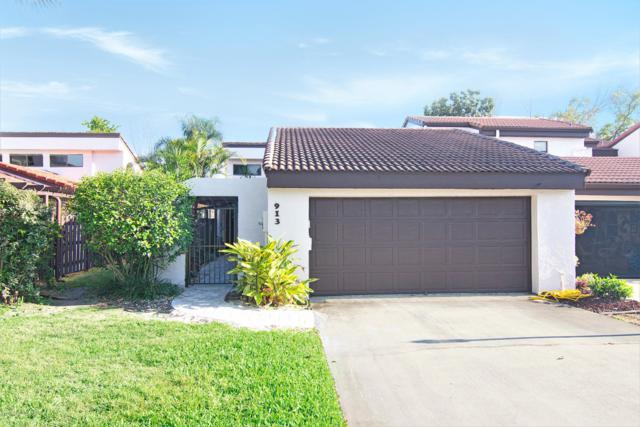 913 Osprey Drive, Melbourne, FL 32940 (MLS #839144) :: Pamela Myers Realty