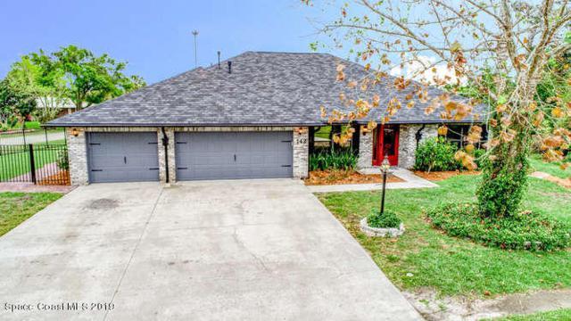 142 Palm Circle, Melbourne, FL 32940 (MLS #839939) :: Premium Properties Real Estate Services