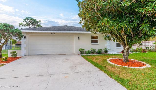 862 Beacon Street NW, Palm Bay, FL 32907 (MLS #840099) :: Pamela Myers Realty