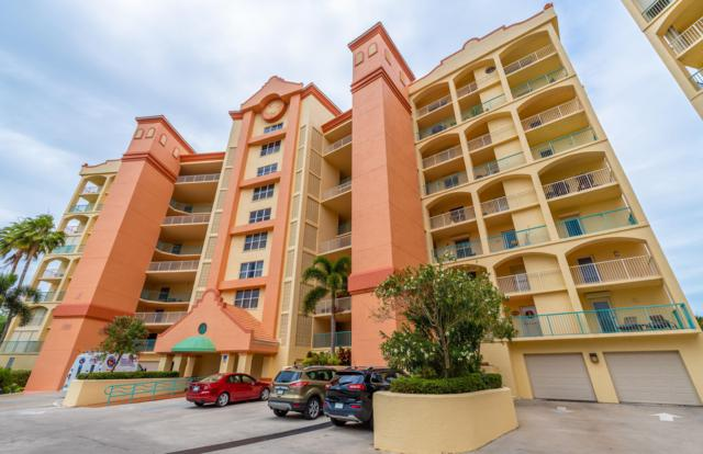 100 Riverside Drive #305, Cocoa, FL 32922 (MLS #840476) :: Blue Marlin Real Estate