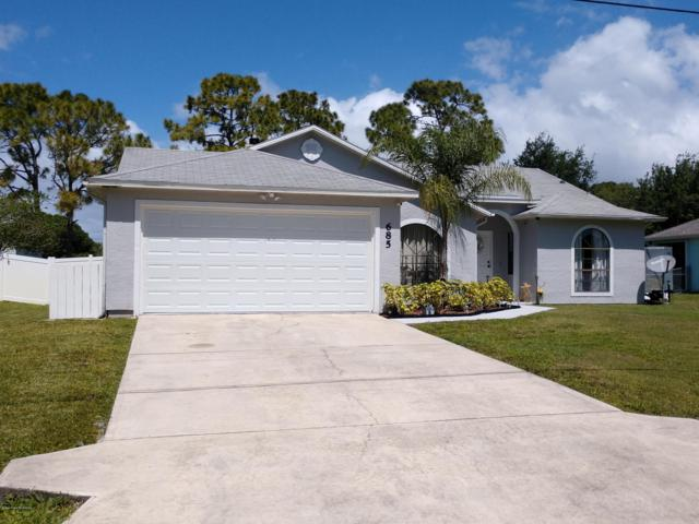 685 NW Banks Street NW, Palm Bay, FL 32907 (MLS #840800) :: Premium Properties Real Estate Services
