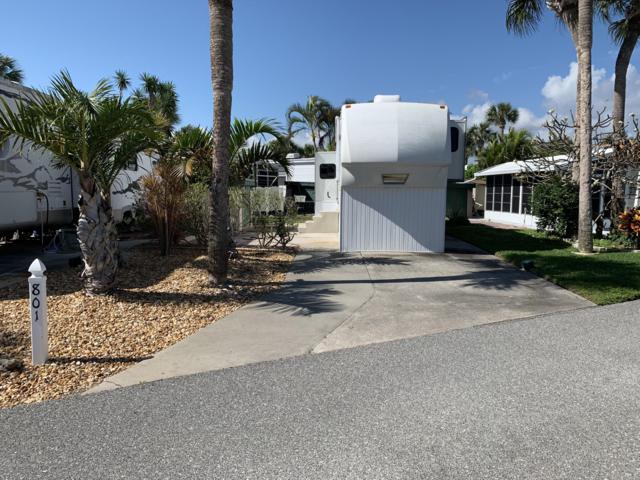 801 Galaxy Lane #204, Melbourne Beach, FL 32951 (MLS #841887) :: Blue Marlin Real Estate