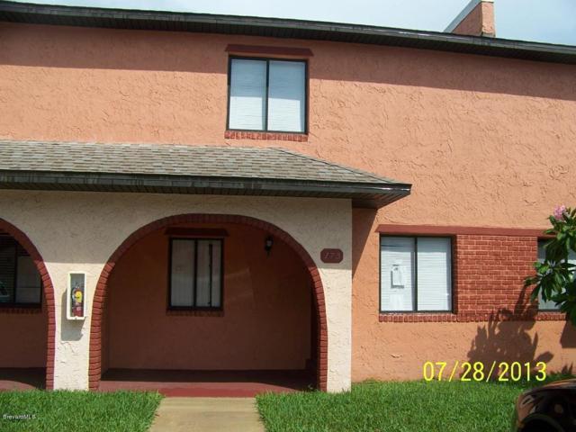 173 San Juan Circle #173, Melbourne, FL 32935 (MLS #842301) :: Blue Marlin Real Estate