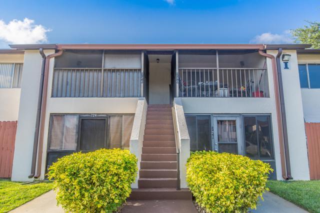 726 Ridge Club Drive #46, Melbourne, FL 32934 (MLS #842419) :: Blue Marlin Real Estate