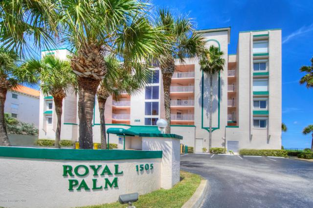 1505 N Highway A1a #204, Indialantic, FL 32903 (MLS #842631) :: Blue Marlin Real Estate