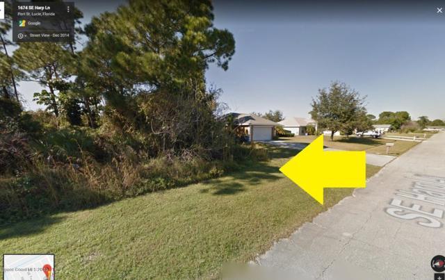 1674 SE Harp Lane, Port Saint Lucie, FL 34984 (MLS #842865) :: Pamela Myers Realty