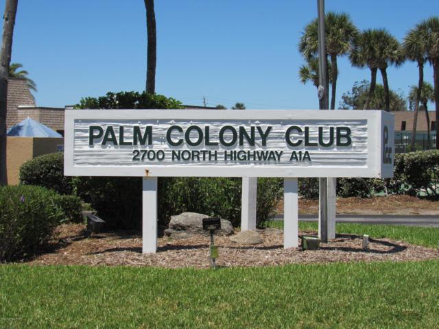 2700 N Highway A1a 21-104, Indialantic, FL 32903 (MLS #843106) :: Blue Marlin Real Estate