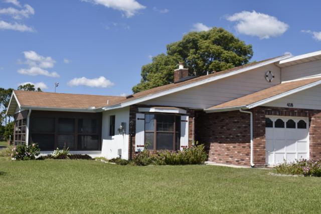 418 Shangri La Circle, Edgewater, FL 32132 (MLS #843226) :: Blue Marlin Real Estate