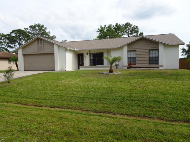 424 Orlov Road NW, Palm Bay, FL 32907 (MLS #843404) :: Blue Marlin Real Estate