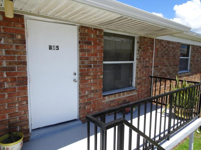190 E Olmstead Drive B15, Titusville, FL 32780 (MLS #843886) :: Pamela Myers Realty