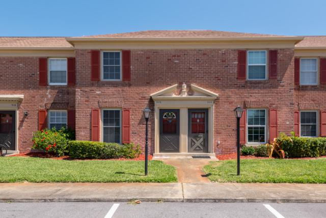 916 S Colonial Court #112, Indian Harbour Beach, FL 32937 (MLS #844810) :: Pamela Myers Realty