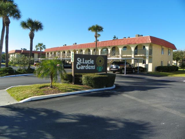 201 Saint Lucie Lane #204, Cocoa Beach, FL 32931 (MLS #845675) :: Premium Properties Real Estate Services