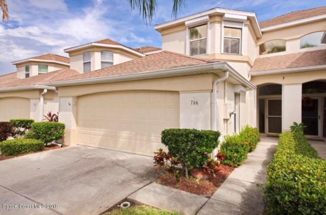 706 Mar Brisa Court #706, Satellite Beach, FL 32937 (MLS #845709) :: Premium Properties Real Estate Services