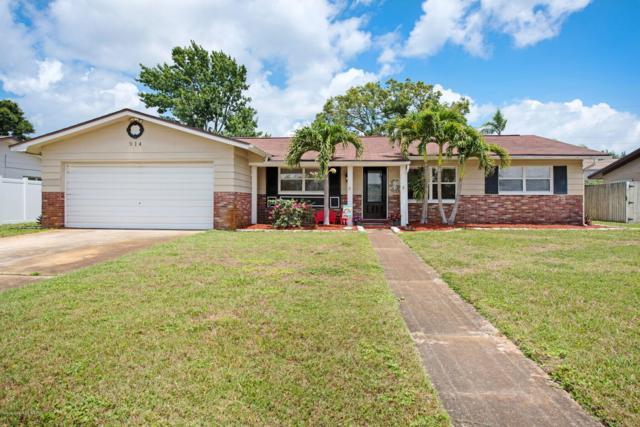914 Kings Post Road, Rockledge, FL 32955 (MLS #846017) :: Premium Properties Real Estate Services