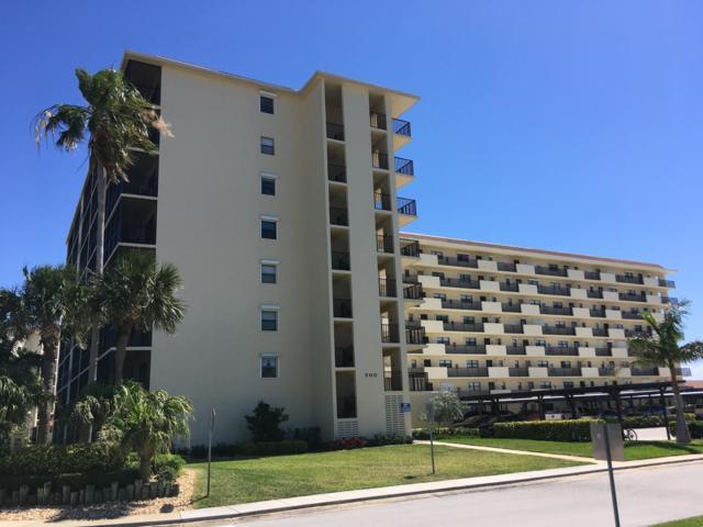 500 Palm Springs Boulevard #309, Indian Harbour Beach, FL 32937 (MLS #846260) :: Armel Real Estate