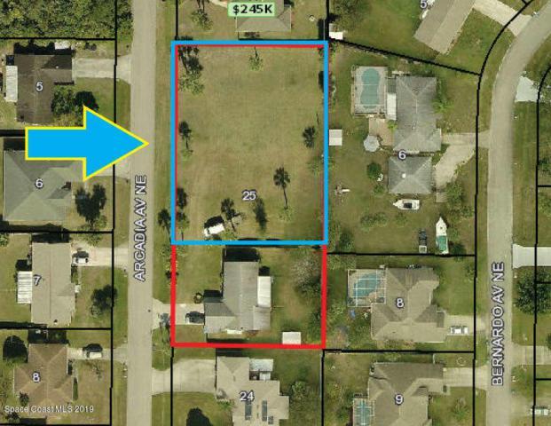 565 Arcadia Avenue NE Lots 26 & 27, Palm Bay, FL 32907 (MLS #847341) :: Pamela Myers Realty