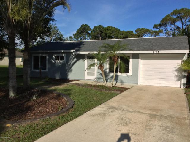 530 El Sito Avenue SE, Palm Bay, FL 32909 (MLS #847978) :: Blue Marlin Real Estate