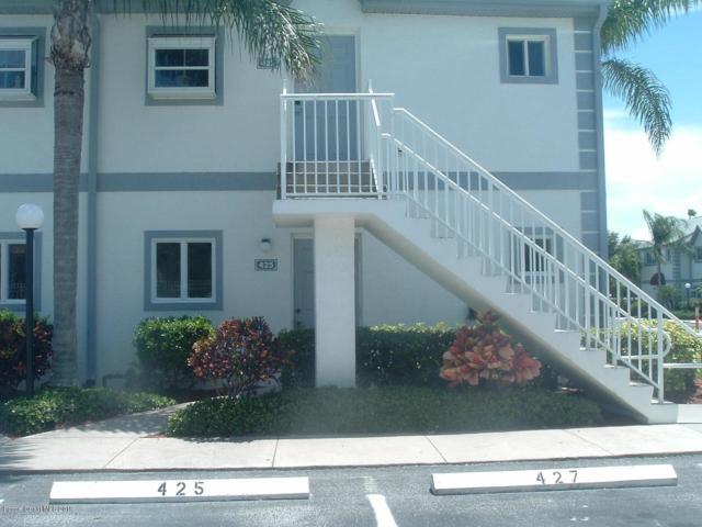 425 Ocean Park Lane #149, Cape Canaveral, FL 32920 (MLS #848099) :: Pamela Myers Realty