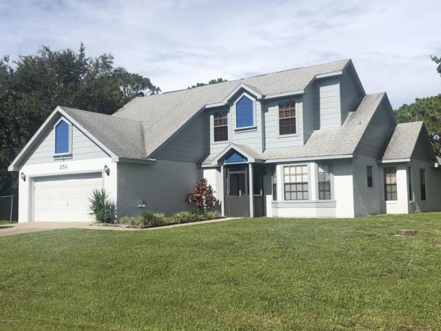 258 Awin Circle SE, Palm Bay, FL 32909 (MLS #848219) :: Pamela Myers Realty