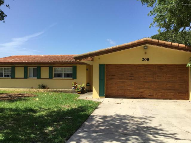208 Bahama Boulevard, Cocoa Beach, FL 32931 (MLS #848373) :: Premium Properties Real Estate Services