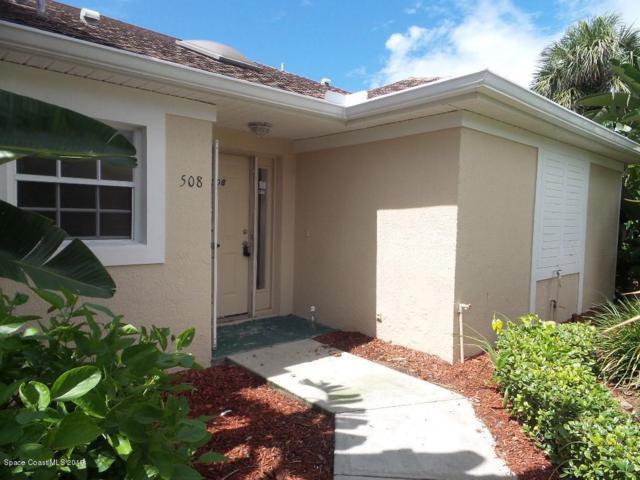 109 La Costa Street #508, Melbourne Beach, FL 32951 (MLS #849178) :: Pamela Myers Realty