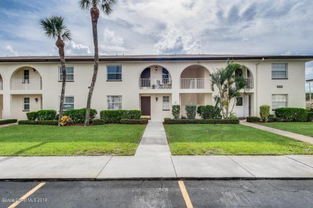 1045 Cheyenne Boulevard #27, Indian Harbour Beach, FL 32937 (MLS #850963) :: Pamela Myers Realty