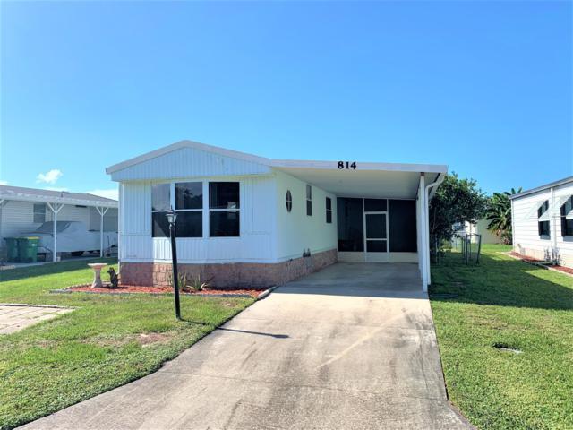 814 Tamarind Circle, Barefoot Bay, FL 32976 (MLS #850980) :: Armel Real Estate