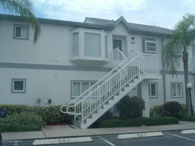 507 Ocean Park Lane #188, Cape Canaveral, FL 32920 (MLS #851158) :: Blue Marlin Real Estate