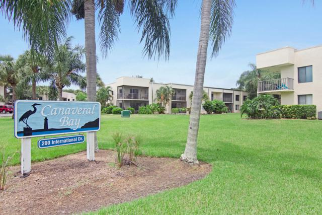 200 International Drive #102, Cape Canaveral, FL 32920 (MLS #851733) :: Engel & Voelkers Melbourne Central