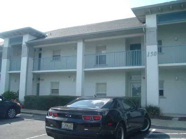 150 Portside Avenue #202, Cape Canaveral, FL 32920 (MLS #855436) :: Blue Marlin Real Estate