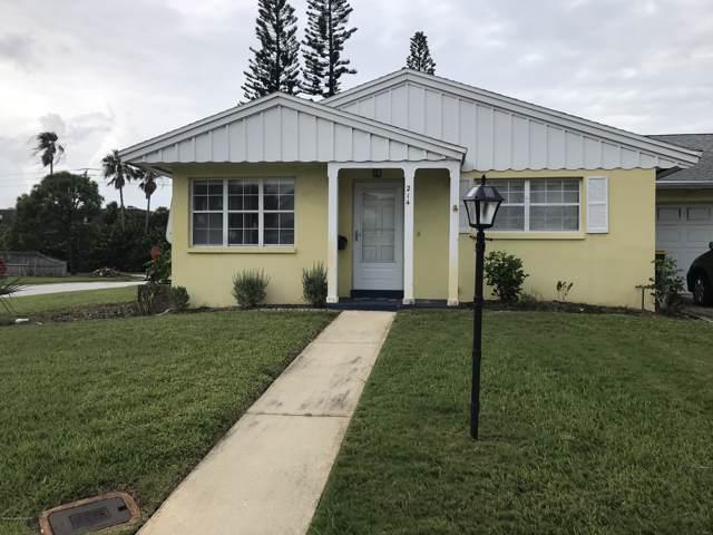 214 N Emerald Drive N, Indian Harbour Beach, FL 32937 (MLS #855474) :: Pamela Myers Realty