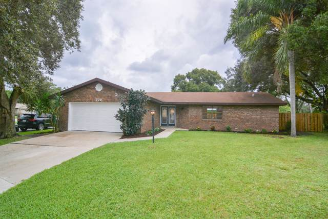 772 Samuel Chase Lane, West Melbourne, FL 32904 (MLS #855486) :: Premium Properties Real Estate Services