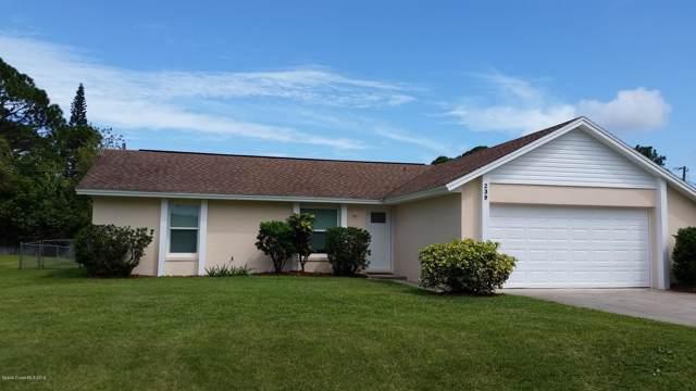 239 Greenway Avenue NW, Palm Bay, FL 32907 (MLS #855517) :: Pamela Myers Realty