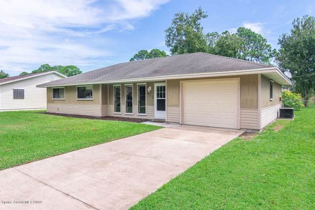 812 Firestone Street NE, Palm Bay, FL 32907 (MLS #855538) :: Premium Properties Real Estate Services