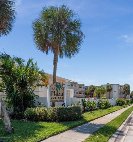 223 Columbia Drive #208, Cape Canaveral, FL 32920 (MLS #855548) :: Pamela Myers Realty