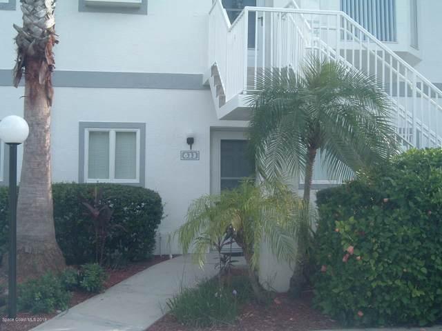 633 Ocean Park Lane #249, Cape Canaveral, FL 32920 (MLS #855568) :: Blue Marlin Real Estate
