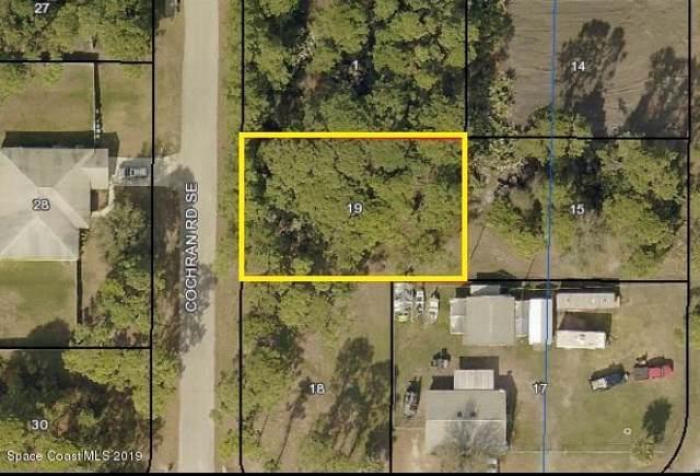 891 Cochran Road SE, Palm Bay, FL 32909 (MLS #855627) :: Pamela Myers Realty