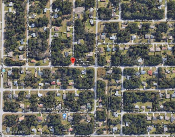 490 Granadier Avenue NW, Palm Bay, FL 32907 (MLS #855667) :: Pamela Myers Realty