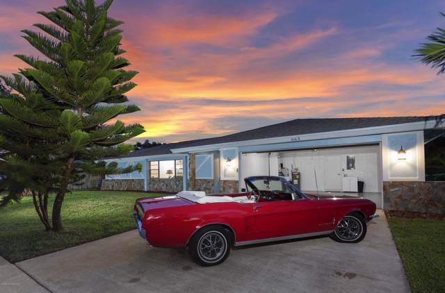 665 Mark & Randy Drive, Satellite Beach, FL 32937 (MLS #855990) :: Pamela Myers Realty
