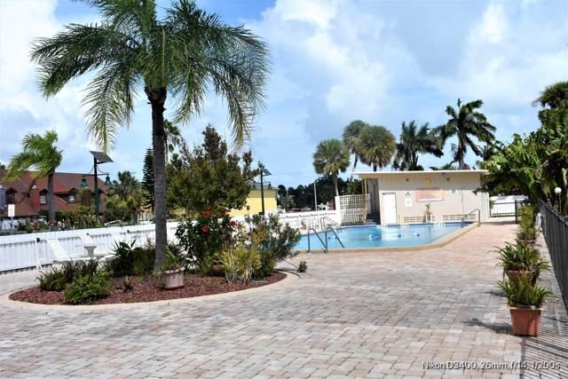 223 Columbia Drive #117, Cape Canaveral, FL 32920 (MLS #856657) :: Premium Properties Real Estate Services