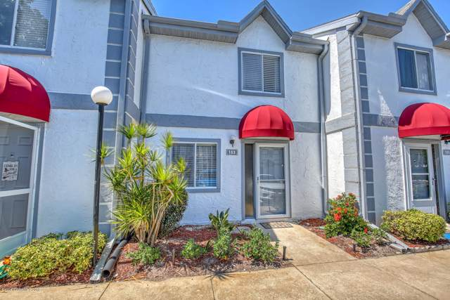 153 Seaport Boulevard #25, Cape Canaveral, FL 32920 (MLS #856682) :: Pamela Myers Realty