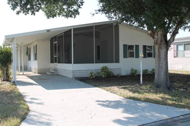 467 Marlin Circle, Barefoot Bay, FL 32976 (MLS #857170) :: Armel Real Estate