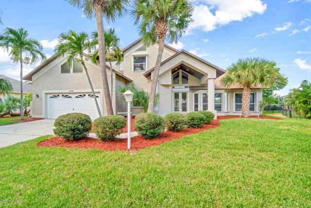542 Sanderling Drive, Melbourne, FL 32903 (MLS #858247) :: Blue Marlin Real Estate