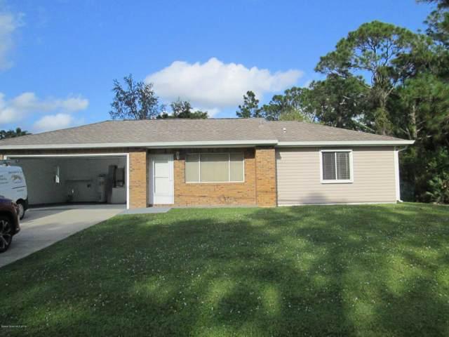 1197 Walden Boulevard SE, Palm Bay, FL 32909 (MLS #858249) :: Blue Marlin Real Estate