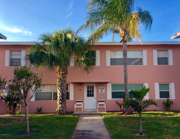 412 Monroe Avenue K101, Cape Canaveral, FL 32920 (MLS #858593) :: Premium Properties Real Estate Services