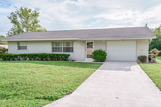 903 Tacaro Avenue SE, Palm Bay, FL 32909 (MLS #858649) :: The Nolan Group of RE/MAX Associated Realty