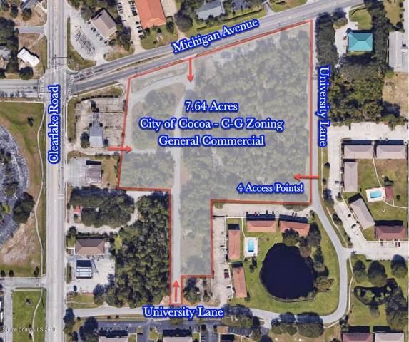 0000 Michigan Avenue, Cocoa, FL 32922 (MLS #858926) :: Blue Marlin Real Estate