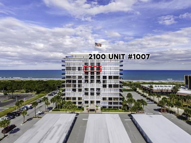 2100 N Atlantic Avenue #1007, Cocoa Beach, FL 32931 (MLS #859797) :: Premium Properties Real Estate Services