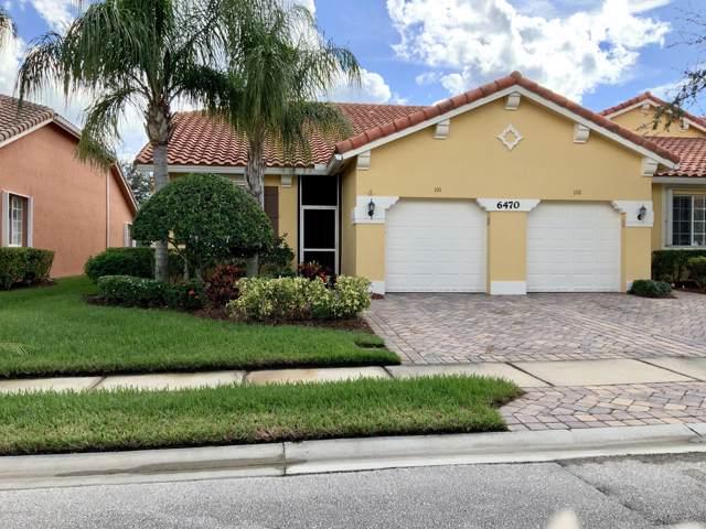 6470 Oxford Circle 101A, Vero Beach, FL 32966 (MLS #860045) :: Blue Marlin Real Estate